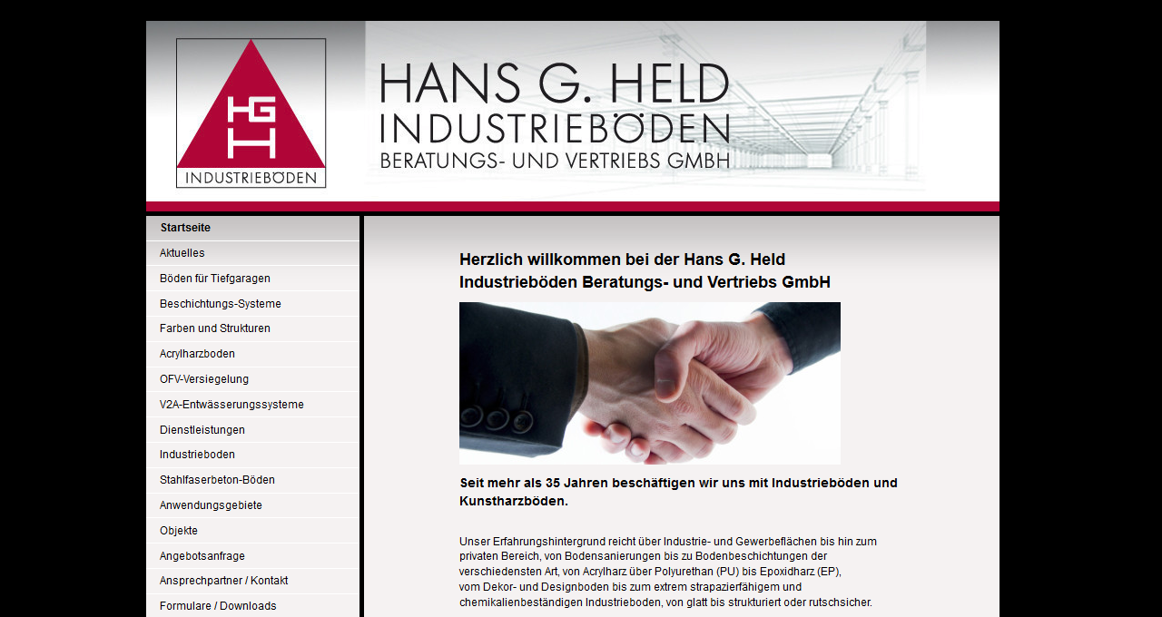 Hans G. Held Industrieböden
