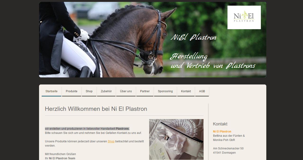 Online Shop NiEl Plastron